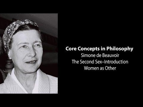 Simone de Beauvoir, The Second Sex | Woman as Other | Philosophy Core Concepts