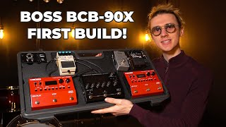 BOSS BCB-90X Pedalboard Review!! BOSS BCB Pedalboard Solutions FIRST LOOK!!