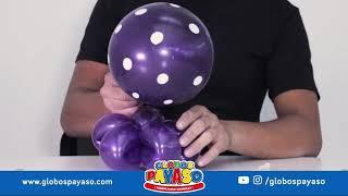 Видеоурок: Осьминог из воздушных шаров Globos Payaso