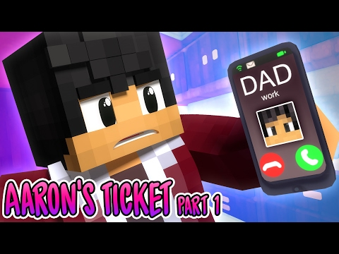 Worst Idea Ever | Aaron's Ticket [Part1] | MyStreet Minecraft Roleplay
