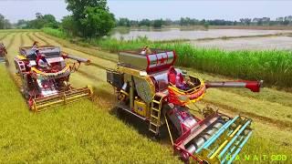 รถเกี่ยวข้าวเกษตรพัฒนา ไอ้หนุ่มไวไฟ EP.3