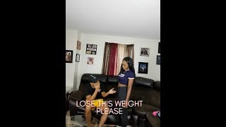YOU NEED TO LOSE WEIGHT PRANK ON GIRLFRIEND!!! (MADE HER CRY)