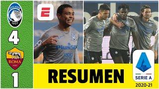 Atalanta 4-1 Roma. ¡Fiesta colombiana! Duván Zapata y Luis Muriel liquidaron a la Loba | Serie A