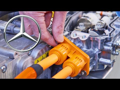 Mercedes Hydrogen Engine Factory