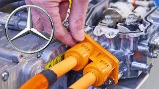 Mercedes Hydrogen Engine Factory