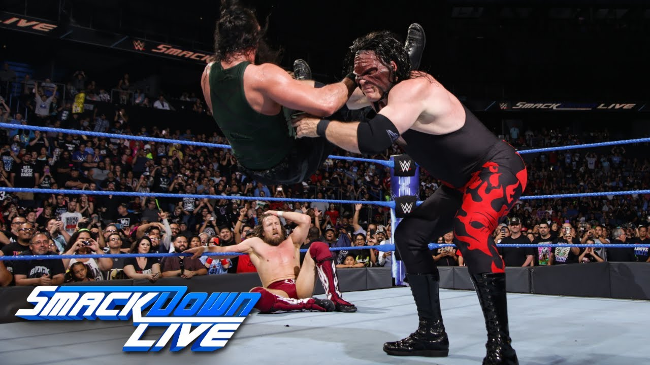 Team Hell No reunites after Harper vs. Daniel Bryan ends in mayhem: SmackDown LIVE, June 26, 2018