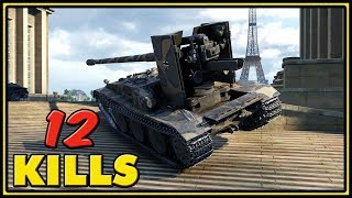 Grille 15 - 12 Kills - World of Tanks Gameplay