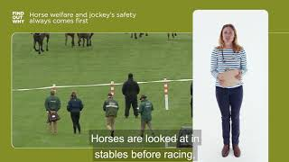 How much importance does racing place on horse welfare?