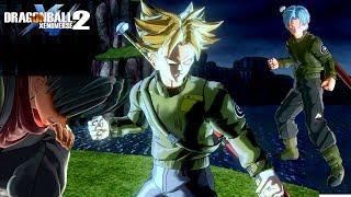 Super saiyan rage trunks dlc 4 - mod gameplay | dragon ball xenoverse 2 mods