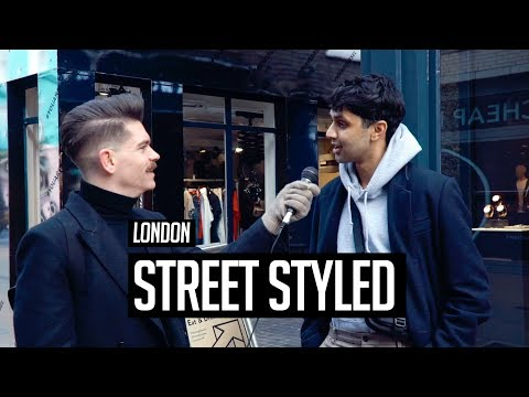 Street Styled | Men's Hair and Style in London | Winter 2018
