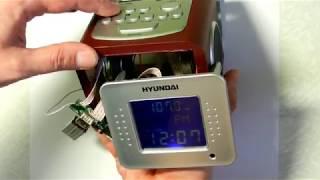 Ремонт электронного будильника HYUNDAI