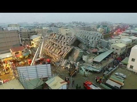 Depremin Vurduğu Tayvan'da Arama Kurtarma çalışmaları Sona Erdi