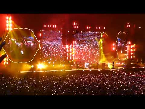 Coldplay Live Fix You At Principality Stadium Cardiff Wales 2017