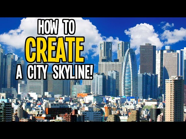 How to Sculpt a Beautiful City Skyline in Cities Skylines!