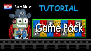 Growtopia Making Game World / Tutorial Game Pack