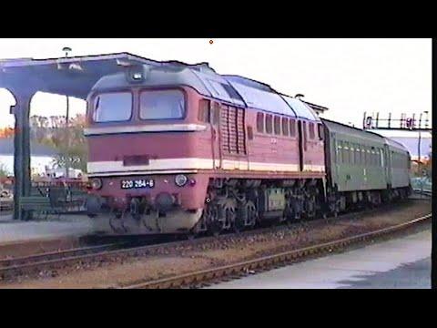 Deutsche Reichsbahn - Dampf und Diesel in Jena-Göschwitz 1993