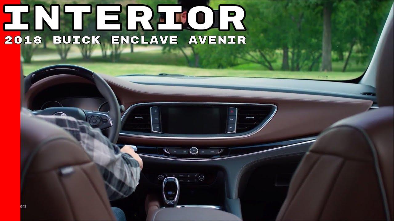 Buick Enclave Interior >> 2018 Buick Enclave Avenir Interior