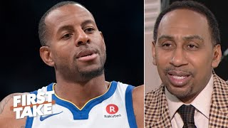 Stephen A. reacts to Andre Iguodala to the Heat |  First Take