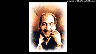 Hum Bekhudi Mein Tum Ko Pukare Chale Gaye Mohd Rafi Film Kala Pani Md SD Burman _ Majrooh..