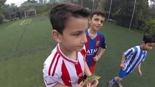 FortNite Penalty Challenge με ποδοσφαιρικές τάπες | MAUI GR