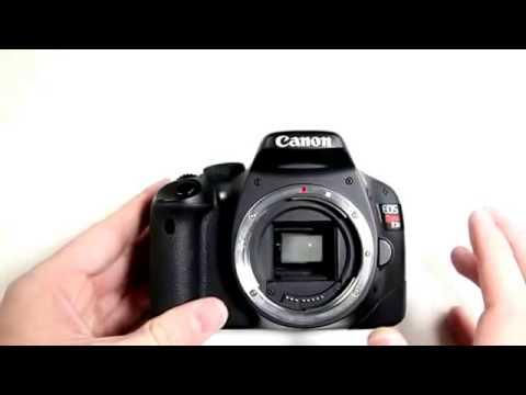 Cleaning dslr camera sensor