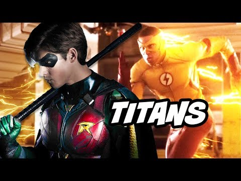 Titans Season 1 - The Flash Crossover and Wally West Comic Con Panel Breakdown