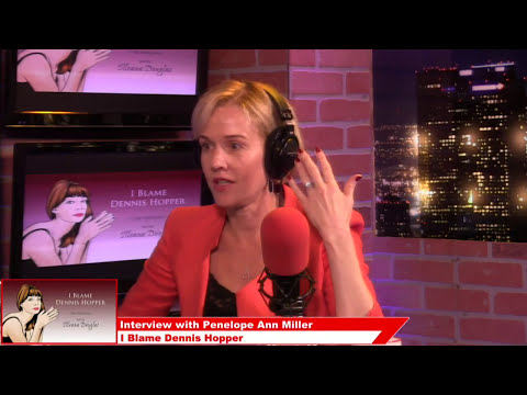 Penelope Ann Miller, Actress  I Blame Dennis Hopper on Popcorn Talk