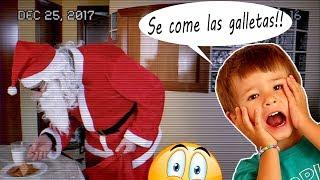 GRABAMOS A PAPA NOEL CON CAMARA OCULTA!! SANTA CLAUS NOS TRAE LOS REGALOS DE NAVIDAD!!