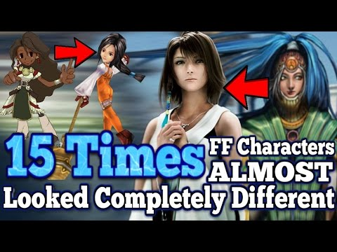 15 times Final Fantasy characters almost looked COMPLETELY different  (FFIII-FFXV)