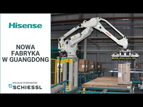 Hisense - nowa fabryka klimatyzacji w Guangdong