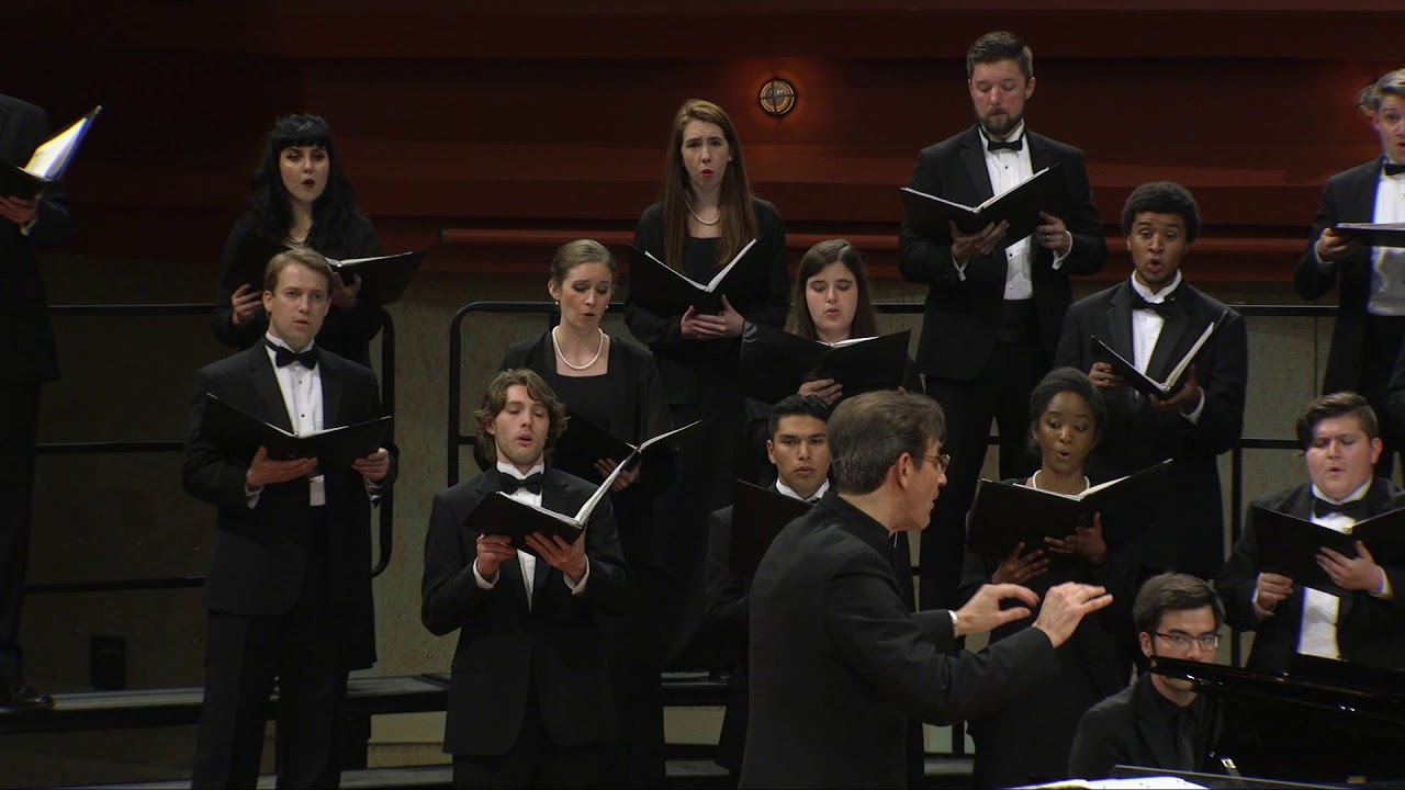 UNT A Cappella Choir: Gretchaninoff - from Slavonic Ecclesiastical Songs,  Opus 23