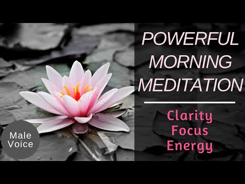 Powerful Morning Meditation ★ Guided Visualisation - Focused Energy
