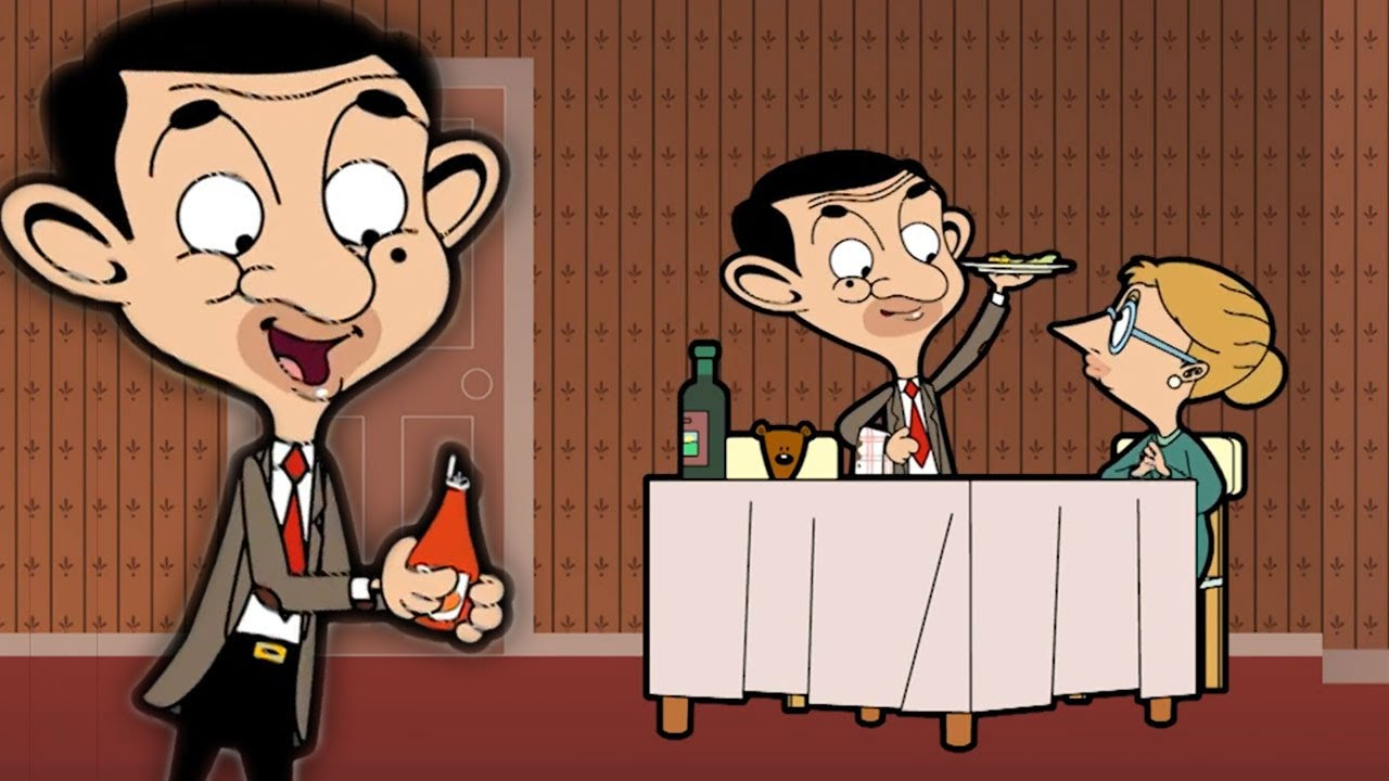 Mr Bean Dinner Party | Funny Episodes | Mr Bean Cartoon World