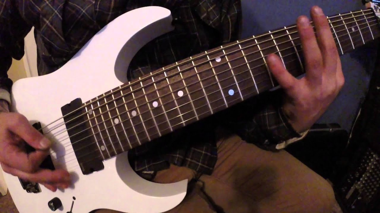 ibanez rg852 prestige demo and review youtube