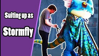 Stormfly Cosplay Suit Up - How To Train Your Dragon
