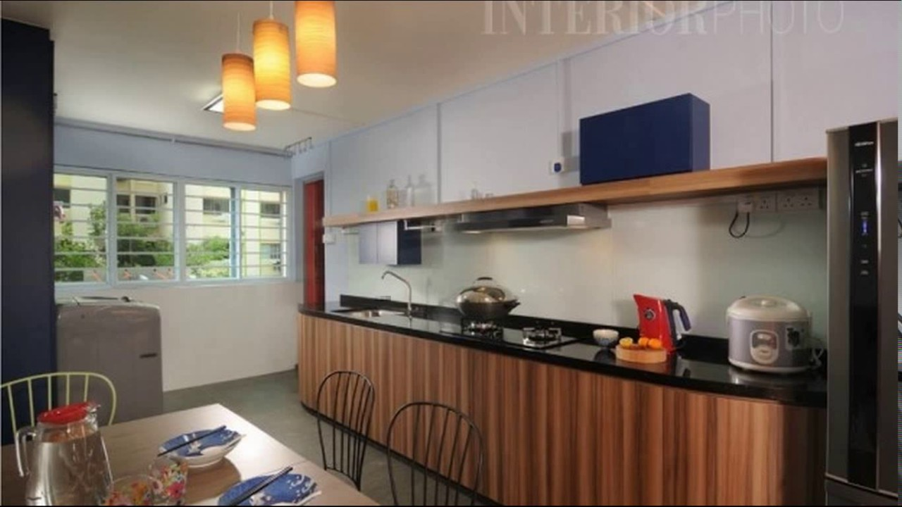 Kitchen Design For Hdb Flat Youtube
