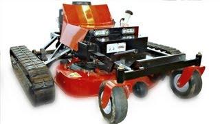 2013 trx 42 hydro static r c replaces zero turn riding lawn mowers on steep hills