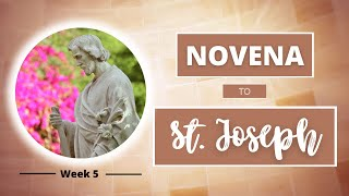 NOVENA TO ST JOSEPH | Week 5: Patron of the Dying