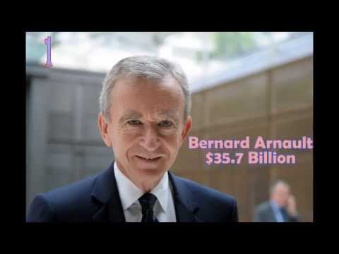 top 10 richest people in Europe in 2015