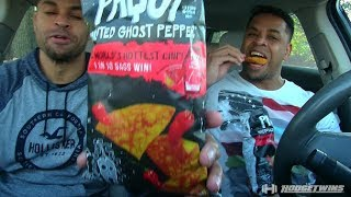 PAQUI CHIPS EATING CHALLENGE EAT OFF @HODGETWINS