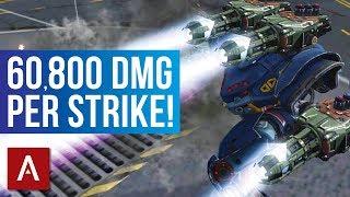 War Robots: Spectre Ion MK2 Gameplay | 60,800 DAMAGE PER STRIKE!
