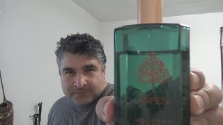 Aspen by Coty Fragrance / Cologne review