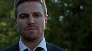 Arrow 4X1 funeral scene