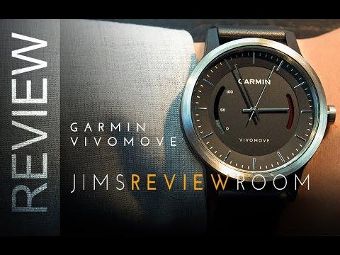 ad2f4b8d5cd Garmin VivoMove Activity Tracker - REVIEW - YouTube