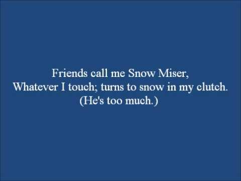 Miser Song Snow Miser Ver.