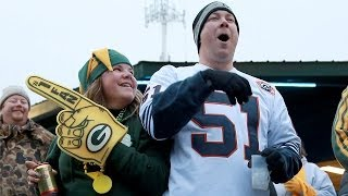 Bears-Packers tailgaters fire up at Lambeau Field
