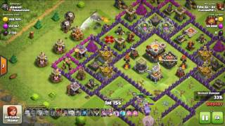 LAVALOON & CLONE SPELL | combo farm for new TH11 | CLASH OF CLANS | CLASH OF CLANS