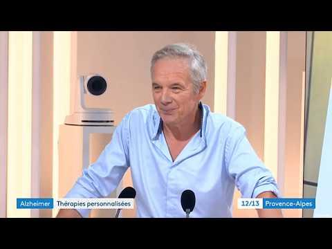 Journée mondiale de l'Alzheimer reportage de France 3 Provence-Alpes sur le Domaine de la Source