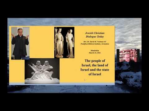 """People Of Israel, Land Of Israel, State Of Israel"" – Fr. David Neuhaus, S.J. | 2021 Meyer Lecture"