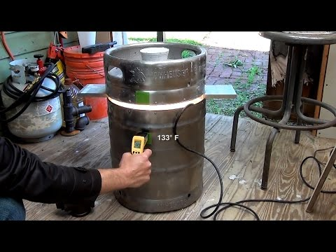 FIRE-KEG Foundry Furnace | Casting the Base and Lid (Part 2)